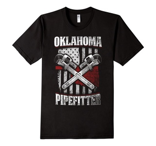Men's  Oklahoma Pipefitter shirts Limited Edition  Small Black