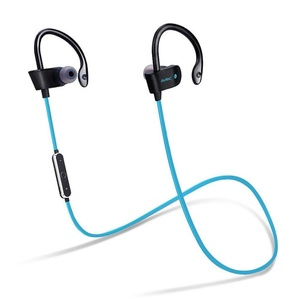 Elaco Wireless Bluetooth Headset Sport Stereo Headphone Earphone For iPhone Samsung (Blue)