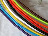 Coloured Textile Electrical Cable Wire with Round 2x0.75 Copper
