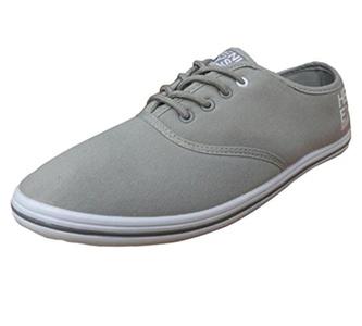 Henleys Men's Stash Canvas Pumps Sneakers Grey US 9
