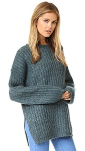 See by Chloe Women's Ribbed Pullover Sweater