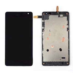 Microsoft Nokia Lumia 535 LCD Digitizer Touch Penal Lens Assembly Parts Relace