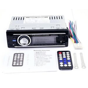 YUNSHANGAUTO Car Audio Stereo AM/FM Receiver Mp3 Player With Remote Control USB SD Input AUX Receiver Support Bluetooth Phone with USB/SD MMC Port Car Electronics In-Dash 1 DIN