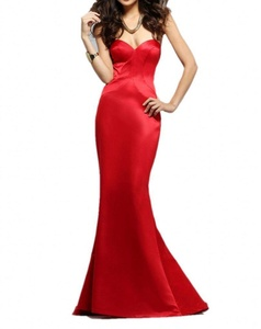 Winnie Bride Women's Red Evening Dress Sweetheart Mermaid Prom Party Ball Gown-16W-Red