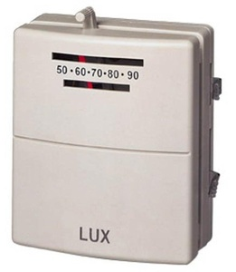 Lux Products T10-1143SA Mechanical Heating and Cooling Thermostat by Lux