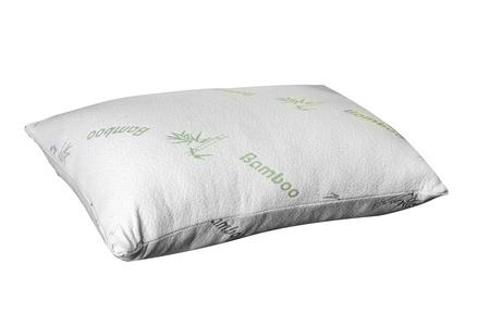 Soft Cloud Bamboo Memory Foam Pillow - Queen size.