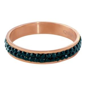 Quiges - Stacking Ring Slide-On Ring Rose Gold 18mm