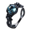 FT-Ring Blue Sapphire Cool Style Jewelry Wedding Ring For Women Engagement Wedding Bridal Rings (8)