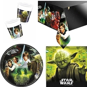 Star Wars Heroes Party Tableware Pack by Party Bags 2 Go