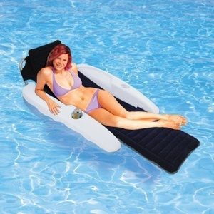 Aqua ChaiseTM Padded Pool Lounger by Blue Wave Products