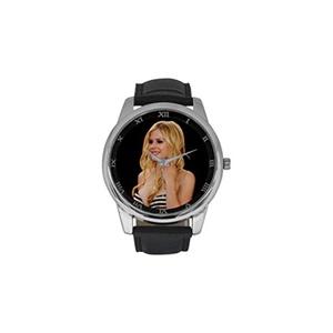 Avril Lavigne PUNK DBLN275 Men Wrist Watches Leather Strap Large Dial Watch