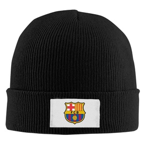 Futbol Club Barcelona Unisex Funny Skullies Winter Knit Hats