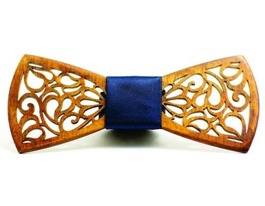 Creative Men's Wooden Bow Tie Wood Wedding Bowtie Best Gift Choice