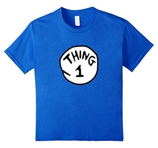 Kids Thing--1--2 T-shirt 6 Royal Blue