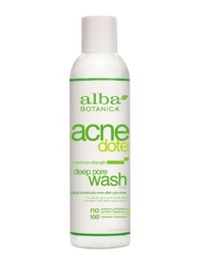 ALBA ACNEdote Deep Pore Wash, 6-Ounces ( Multi-Pack) by Alba Botanica