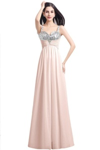 Gorgeous Bridal 2016 Spaghetti Straps Long Evening Prom Dress A-line Gown- US Size 16