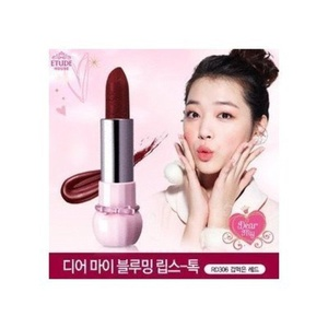 Etude House Dear My Blooming Lips-talk #RD306 Scared Red by Etude House