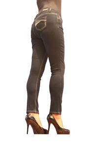 Earl Jean Women Petite Skinny Leg and Bright Stone Back Pocket Epmp123 (8P)