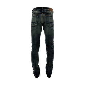 Focus Denim - Men's Rips And Repair Jeans - Dark