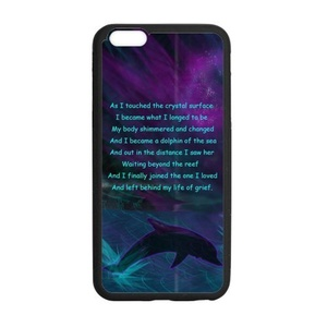 Case for iPhone 6 Plus/6S Plus,Rubber Case for iPhone 6 Plus(5.5 inch),Case for iPhone 6S Plus,Cover for iPhone6S Plus,Dolphin Pattern Protective Rubber Case for iPhone 6 Plus(5.5