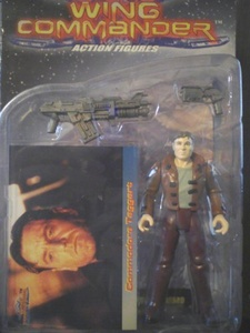 Wing Commander action figure Commodore Taggart by Wing Commander