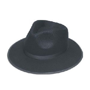 HM Smallwares Deluxe Fedora Hat, Black by HM Smallwares