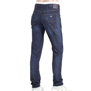 Armani Slim Fit Dark Rinsed Mens Denim Jeans AJM5977