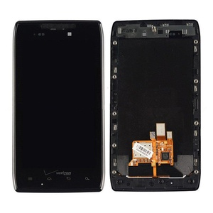 Motorola Droid Razr XT912 Touch Digitizer With Lcd Display+Frame