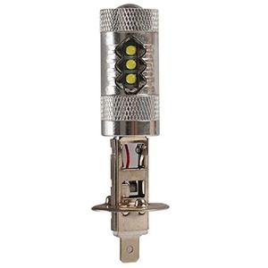 2X CREE 80W LED H1 Super Bright White Fog Tail Turn DRL Head Car Light Lamp Bulb