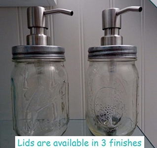 Double Mason Jar Soap Dispenser,Hand Sanitizer Dispenser,Soap Dispenser,Mason Jar Decor,Kitchen Decor,Vintage,Mason Decor