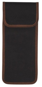 Wallet for folding stick - black with brown trim by Classic Canes