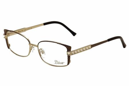 Diva Women's Eyeglasses 5458 272 Brown/Gold/Crystal Full Rim Optical Frame 51mm