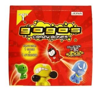 Magic Box Int - GoGo's Crazy Bones S1 Flow Blister Pack 1 CDU45 by Magic Box International