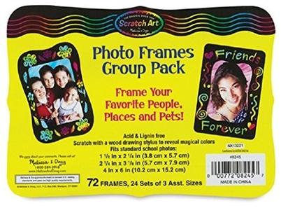 Scratch-Art Classroom Packs Scratch-Art Photo Frames Group Pack by Scratch Art