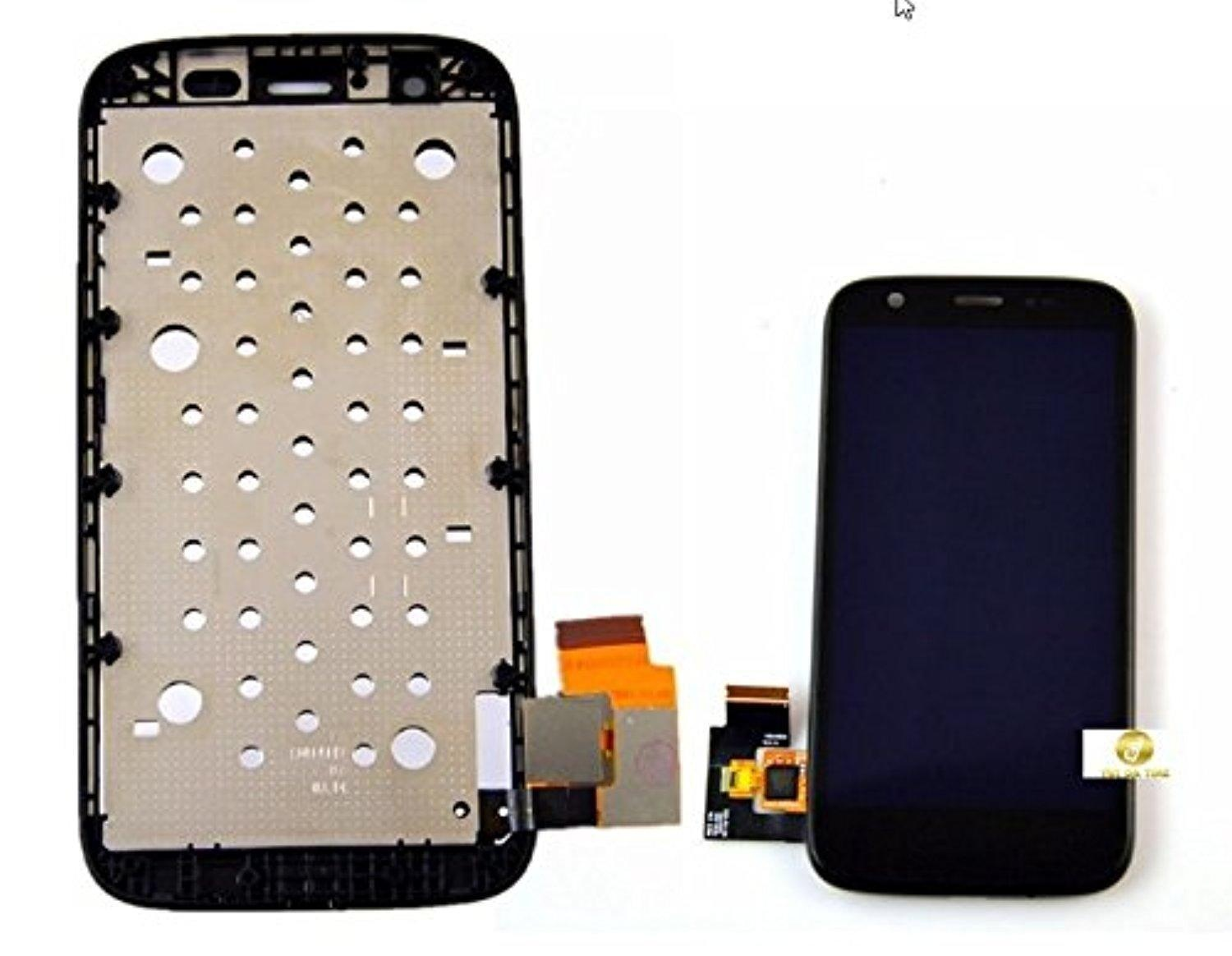 OEM Motorola Moto G 1st generation LCD Display Digitizer Front +Frame Assembly Black