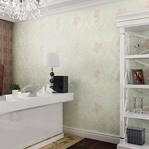 XH@G Wallpapers 3D Garden DIY nonwoven wallpaper TV background wall wallpaper 1000cm*53cm , 5