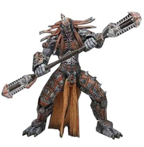 Gears of War NECA Series 6 Action Figure Skorge Chainsaw Staff by Gears of War