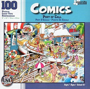 Comics - Port of Call - 100 Piece Jigsaw Puzzle by Comics