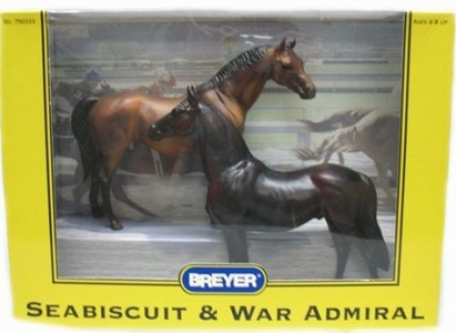 Breyer Horses: Seabiscuit and War Admiral by Wisconsin Toy Co.