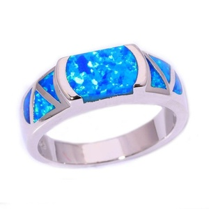 FT-Ring Blue Fire Opal Jewelry Wedding Ring For Women Engagement Wedding Bridal Rings (9)