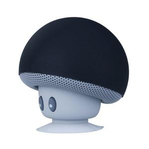 ICENN Mushroom Mini Wireless Portable Bluetooth 4.1 Speakers with Mic for Iphone /Ipad /Laptop Samsung HTC Lg Sony Cell Phones Black