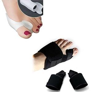 Aptoco Set of 4PCS Hallux Valgus Splints Bunion Corrector Toes Protector Pain Relief