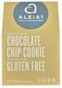 Aleia's Gluten Free Foods Chocolate Chip Cookies, 9 Ounce by Aleia's Gluten Free Foods