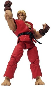 Street Fighter Revolution: Ken Action Figure by Street Fighter