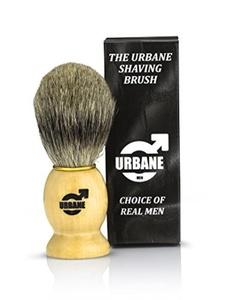 Urbane Men Pure Badger Wooden Handle Shaving Brush SB333 by Urbane Men