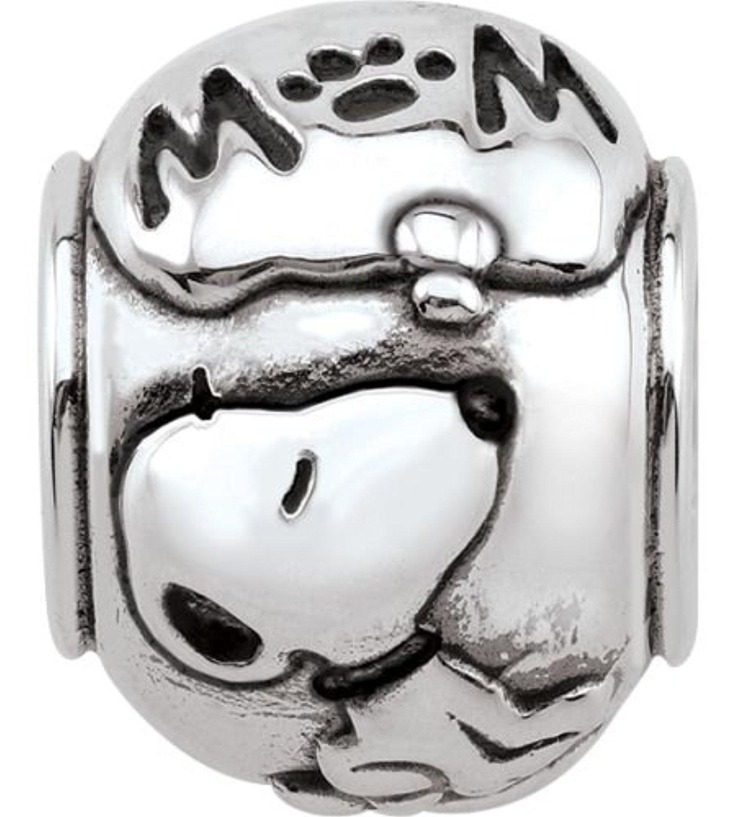 line Store Persona Sterling Silver Snoopy Thinking Mom Charm
