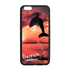 Case for iPhone 6 Plus,Case for iPhone 6S Plus,Fashion Dolphin Design Rubber TPU Case Cover for iPhone 6 Plus/6S plus,Case Cover & Skin for Apple iPhone 6 plus/iPhone 6S plus(5.5 Inch)
