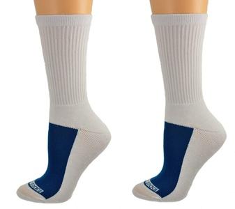 Sierra Socks #1 Women's Cotton Athletic Crew Cushioned Performance Sport Socks, No Blisters SWMCC 4007