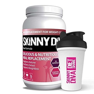 Skinny Diva 980 g Strawberry Meal Replacement by Skinny Diva
