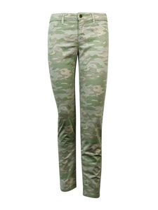 American Living Camouflage Straight-Leg Twill Pants Light Olive - Size 12 Inseam 29